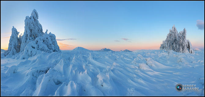 Зима на КМВ, фотография Сергея Баранова